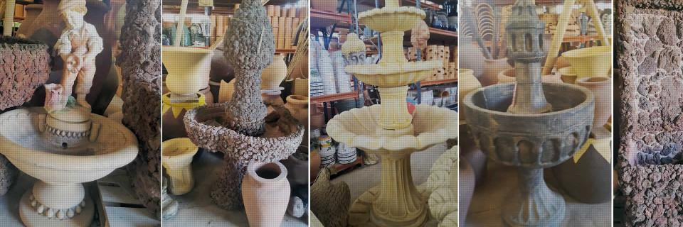 Fabricación artesanal de fuentes a medida